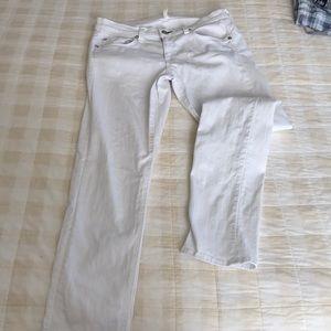 White rag and bone jeans